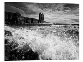 Tableau en PVC  CastlKeis Castle, Wick, Scotland - Martina Cross