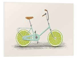 Tableau en PVC  Bicyclette acide - Florent Bodart