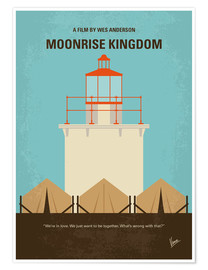 Poster Moonrise Kingdom (anglais)