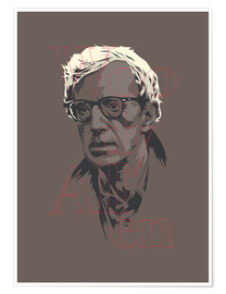 Poster  Woody Allen - Fourteenlab