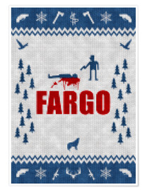 Poster Fargo style tricot
