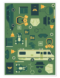Poster  Breaking Bad - Tracie Andrews