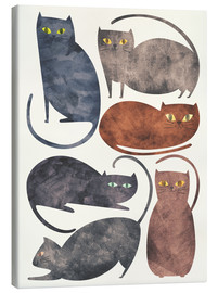 Tableau sur toile  Chats - Tracie Andrews