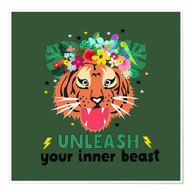 Poster Unleash your inner beast