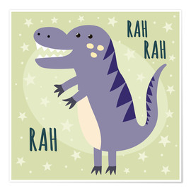 Poster  Petit dinosaure - Kidz Collection