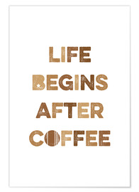 Poster After coffee