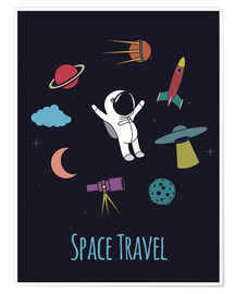 Poster Space Travel