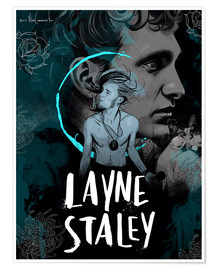 Poster Layne Staley