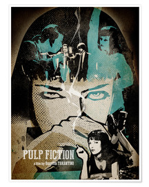 Poster Pulp Fiction (anglais)