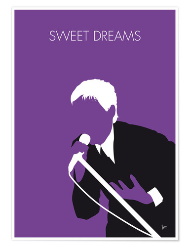 Poster Eurythmics, Sweet Dreams