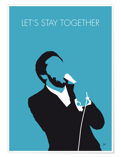 Poster Al Green, Let's stay together