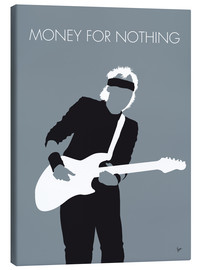 Tableau sur toile  Mark Knopfler, Money for nothing - chungkong