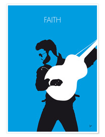 Poster George Michael, Faith