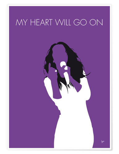 Poster Celine Dion, My Heart Will Go On