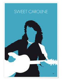 Poster Neil Diamond, Sweet Caroline