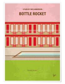 Poster Bottle Rocket (anglais)
