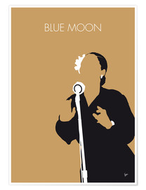Poster Billie Holiday, Blue moon