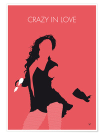 Poster Beyonce, Crazy in love