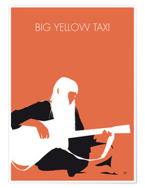 Poster Joni Mitchell - Big Yellow Taxi