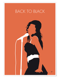 Poster Amy Winehouse, Back to black