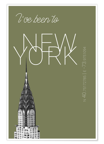 Poster I've been to New York