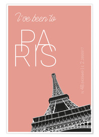 Poster I've been to Paris