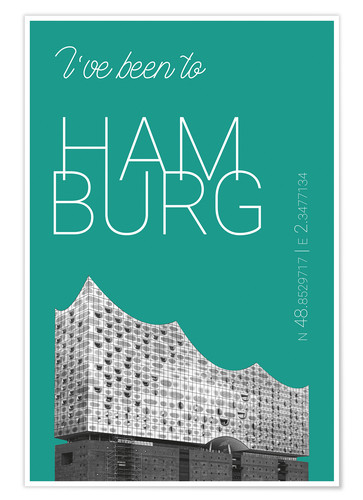 Poster I've been to Hamburg