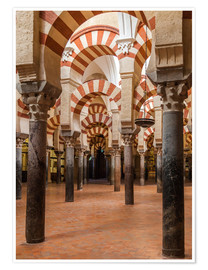 Poster  The Mosque of Cordoba