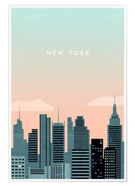 Poster Illustration New York