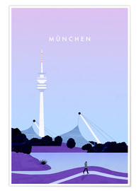 Poster Illustration Munich
