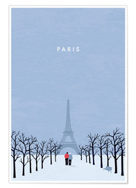 Poster Illustration Paris