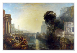Poster  Didon construisant Carthage - Joseph Mallord William Turner