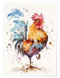 Poster  Le coq - Sillier Than Sally