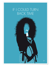 Poster Cher, If I could turn back time
