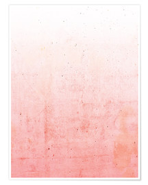 Poster Ombre rose