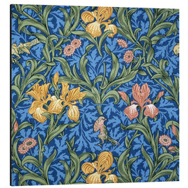 Tableau en aluminium  Iris - William Morris