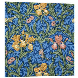 Tableau en PVC  Iris - William Morris