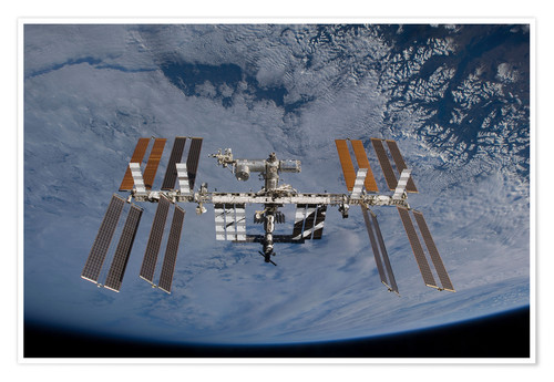 Poster Station spatiale internationale