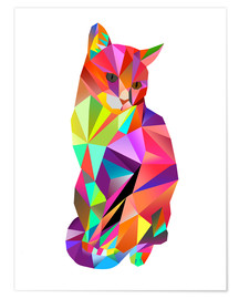 Poster Charles le chat