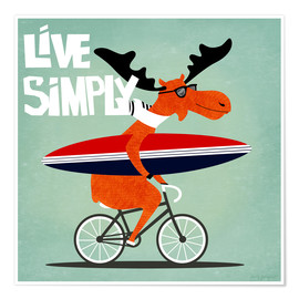 Poster Live simply