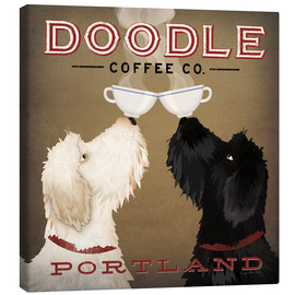 Tableau sur toile  Doodle Coffee IV - Ryan Fowler