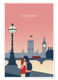 Poster Illustration London