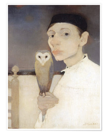 Poster  Autoportrait - Jan Mankes
